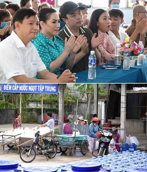 Đông Nhi - Ông Cao Thắng cùng nhiều nghệ sĩ giúp đỡ người dân miền Tây