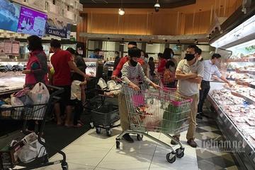 Sáng qua siêu thị sắm đồ, chiều ra chợ xanh lên món