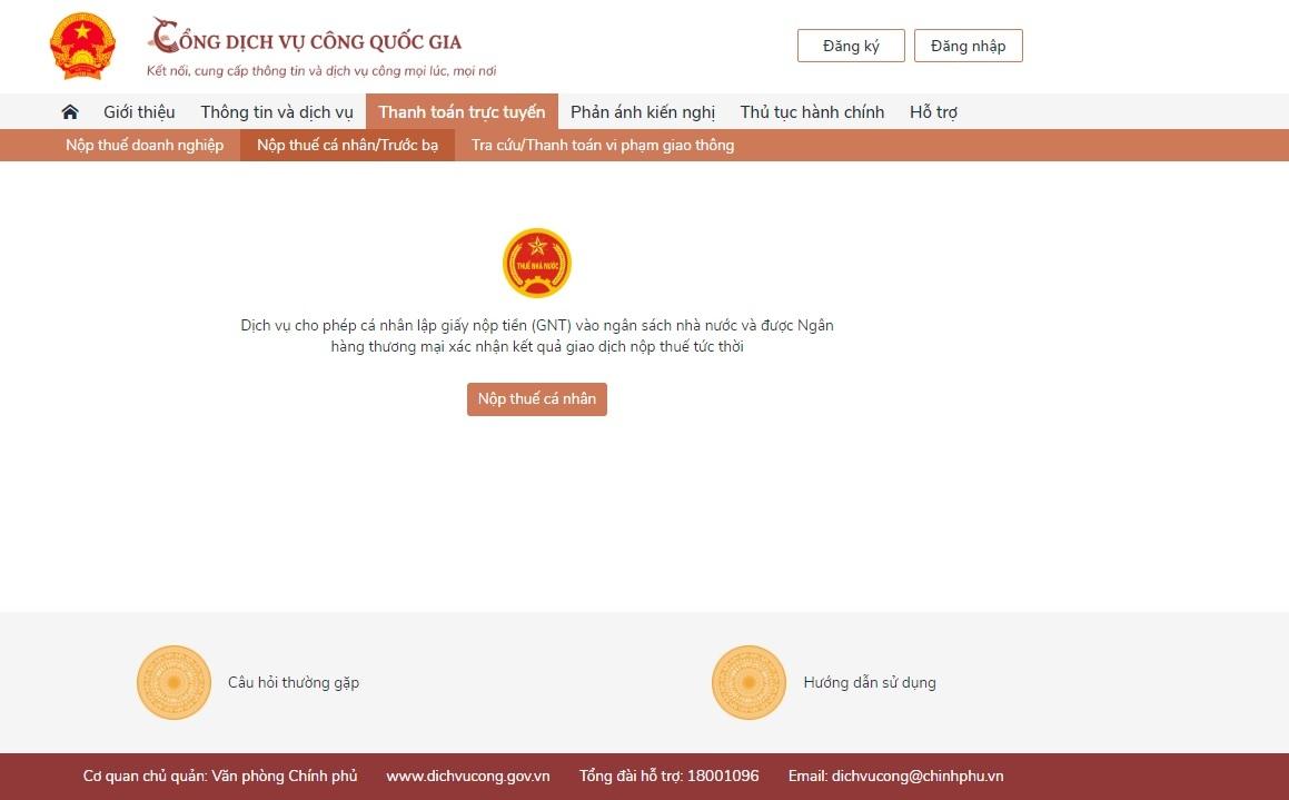 Vietcombank tiên phong cung cấp giải pháp thanh toán trên Cổng Dịch vụ công quốc gia