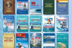 Xuất bản bộ sách đồ sộ về Biển, Đảo Việt Nam với trên 20 đầu sách