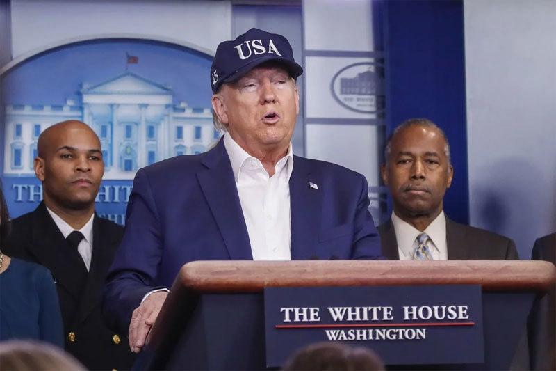 Ông Trump âm tính với Covid-19