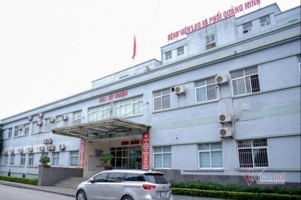 Bệnh viện Lao và phổi Quảng Ninh tạm ngừng nhận bệnh nhân mới