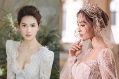 Xao xuyến ngắm Ngọc Trinh, Tiểu Vy mặc váy cưới đẹp tựa cổ tích