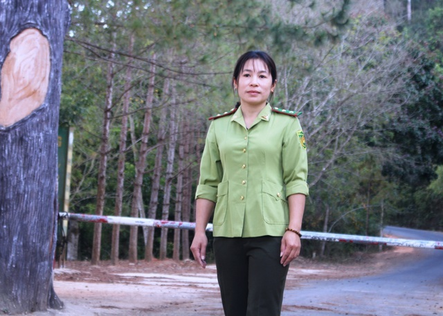 Female forest ranger has passion for hard work