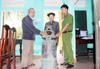 Stolen ancient bell returned to relic