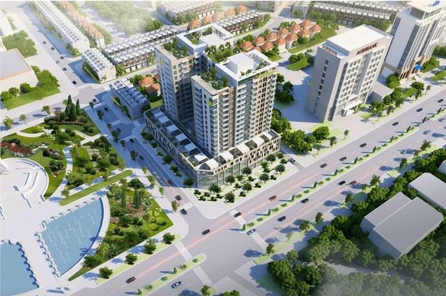 Cấm bán căn hộ có hướng ban công về trụ sở tỉnh uỷ cho người nước ngoài