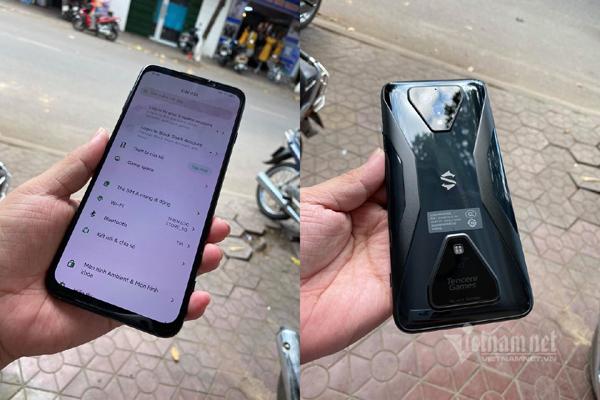 """Điện thoại Black Shark 3 chụp ảnh 256 """"chấm"""" về Việt Nam"""