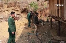 Border guards assist locals in daily life