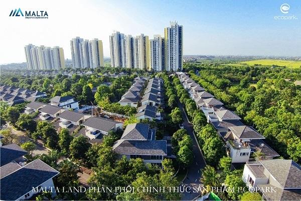 Thời điểm 'vàng' đầu tư bất động sản Ecopark