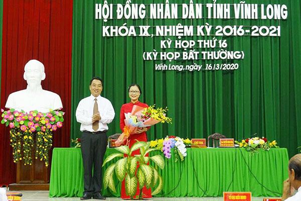 Giám đốc Sở Giáo dục & Đào tạo được bầu làm Phó chủ tịch tỉnh Vĩnh Long