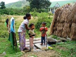 Ethnic village turns into civilised community