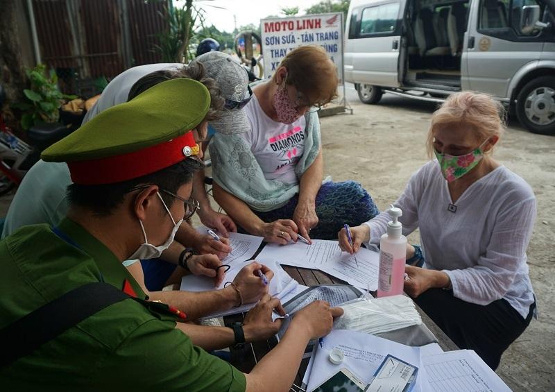 Đà Nẵng lập 7 chốt chặn tại cửa ngõ kiểm soát dịch Covid-19