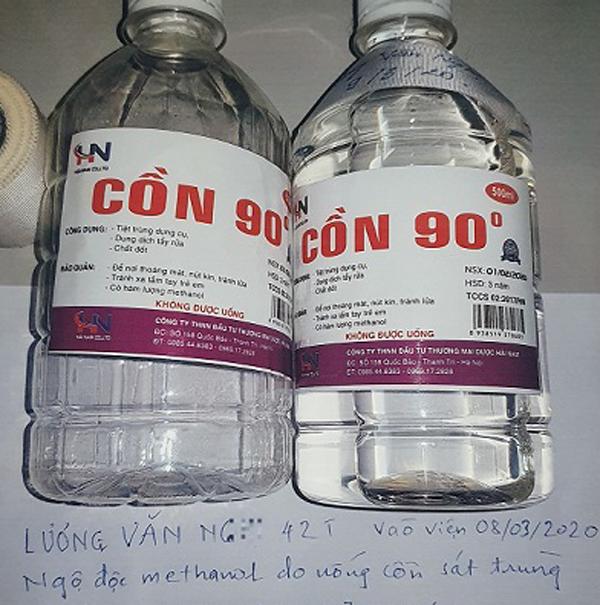 Cảnh báo cồn y tế bị làm giả, vô dụng khi lau rửa