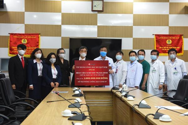 Doji ủng hộ 5 tỷ đồng chống dịch Covid-19