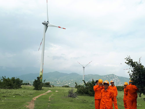 Investors develop wind power projects to enjoy good prices