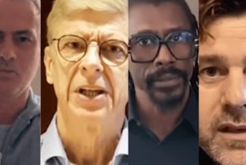 HLV Mourinho, Wenger và Pochettino cùng chỉ cách phòng chống Covid-19
