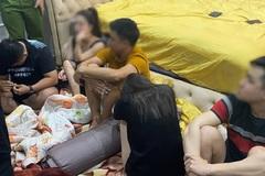 Bắt quả tang nhóm nam nữ ở Đà Nẵng mở tiệc ma túy trong phòng ngủ
