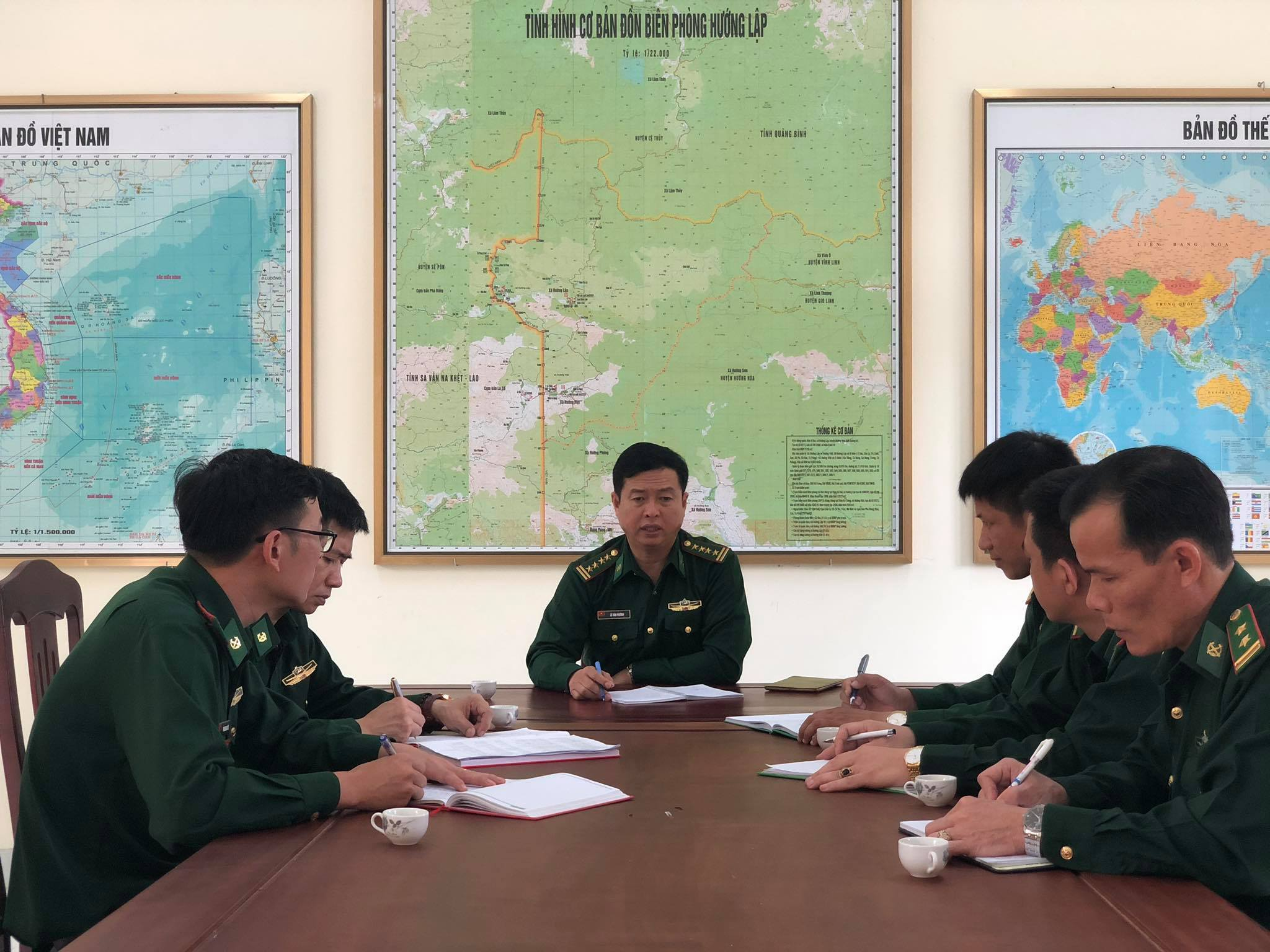 Tăng cường phòng chống dịch Covid-19 trên tuyến biên giới với Lào