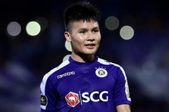 Midfielder Quang Hai surpasses milestone of 100 appearances in V.League 1