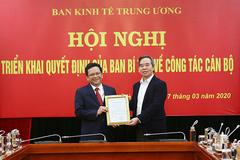 Bổ nhiệm ông Nguyễn Đức Hiển làm Phó Ban Kinh tế TƯ