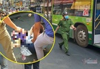 Nữ nhân viên ngân hàng bị xe buýt ở Sài Gòn cán nát chân