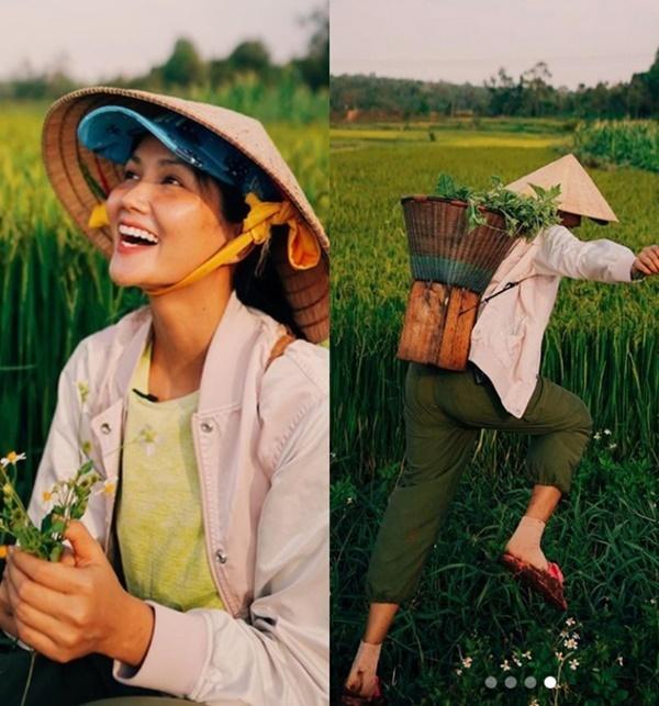 Hoa hậu H'Hen Niê cùng bạn trai về quê Đắk Lắk