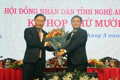 Ông Nguyễn Đức Trung được bầu làm Chủ tịch tỉnh Nghệ An