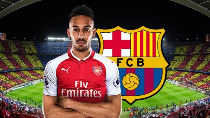 Arsenal,Barca,Barcelona,Aubameyang