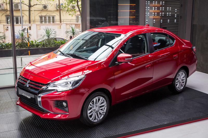 Giá 375 triệu, Mitsubishi Attrage 2020 so găng Hyundai Accent và Kia Soluto