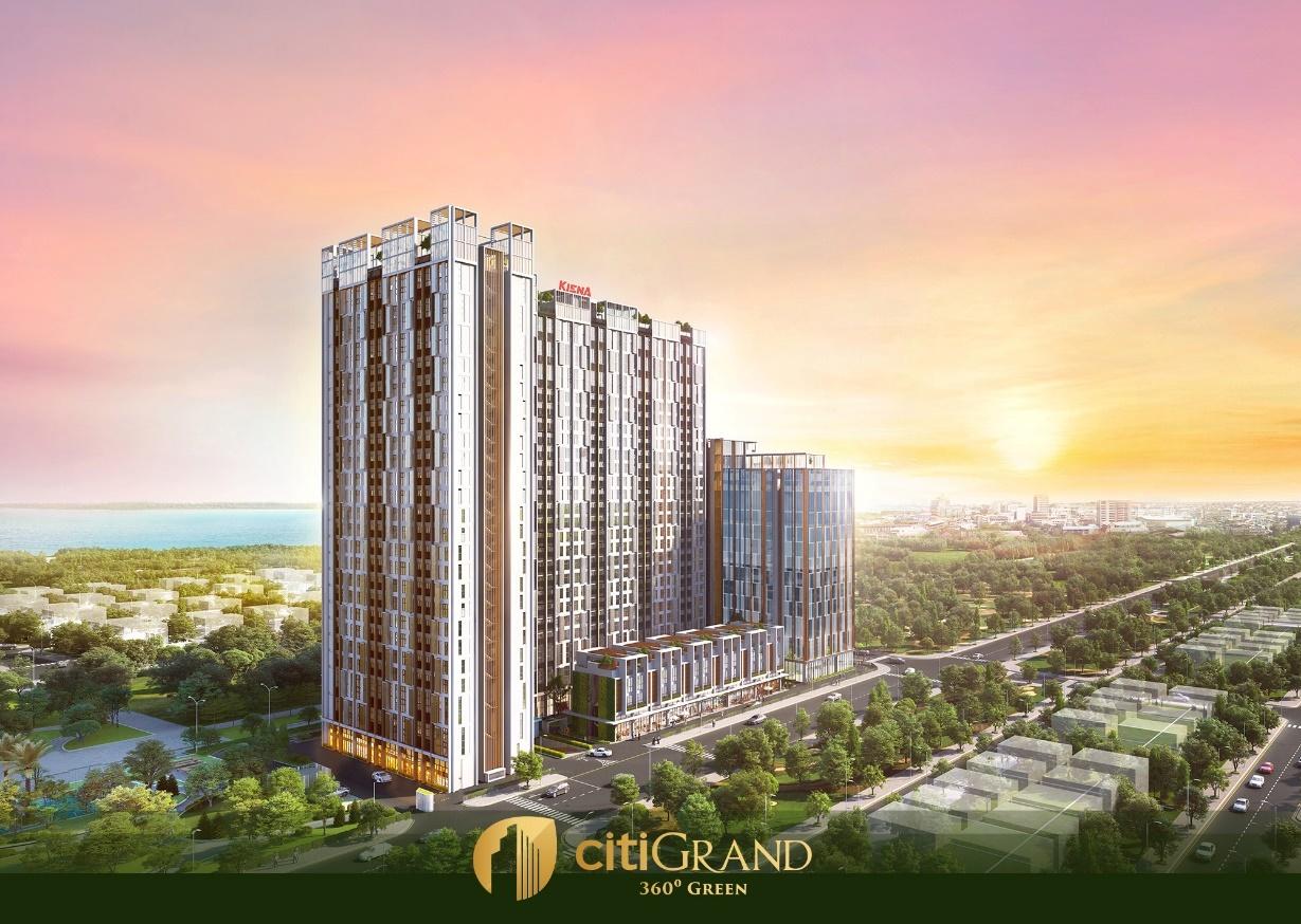CitiGrand - Nơi kiến trúc giao hòa cùng thiên nhiên