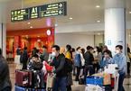 Khách về sân bay Nội Bài hôm nay tăng bất ngờ