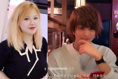 Hot girl Hải Dương sở hữu vòng 1 'khủng' khoe bạn trai người Nhật đẹp như tài tử