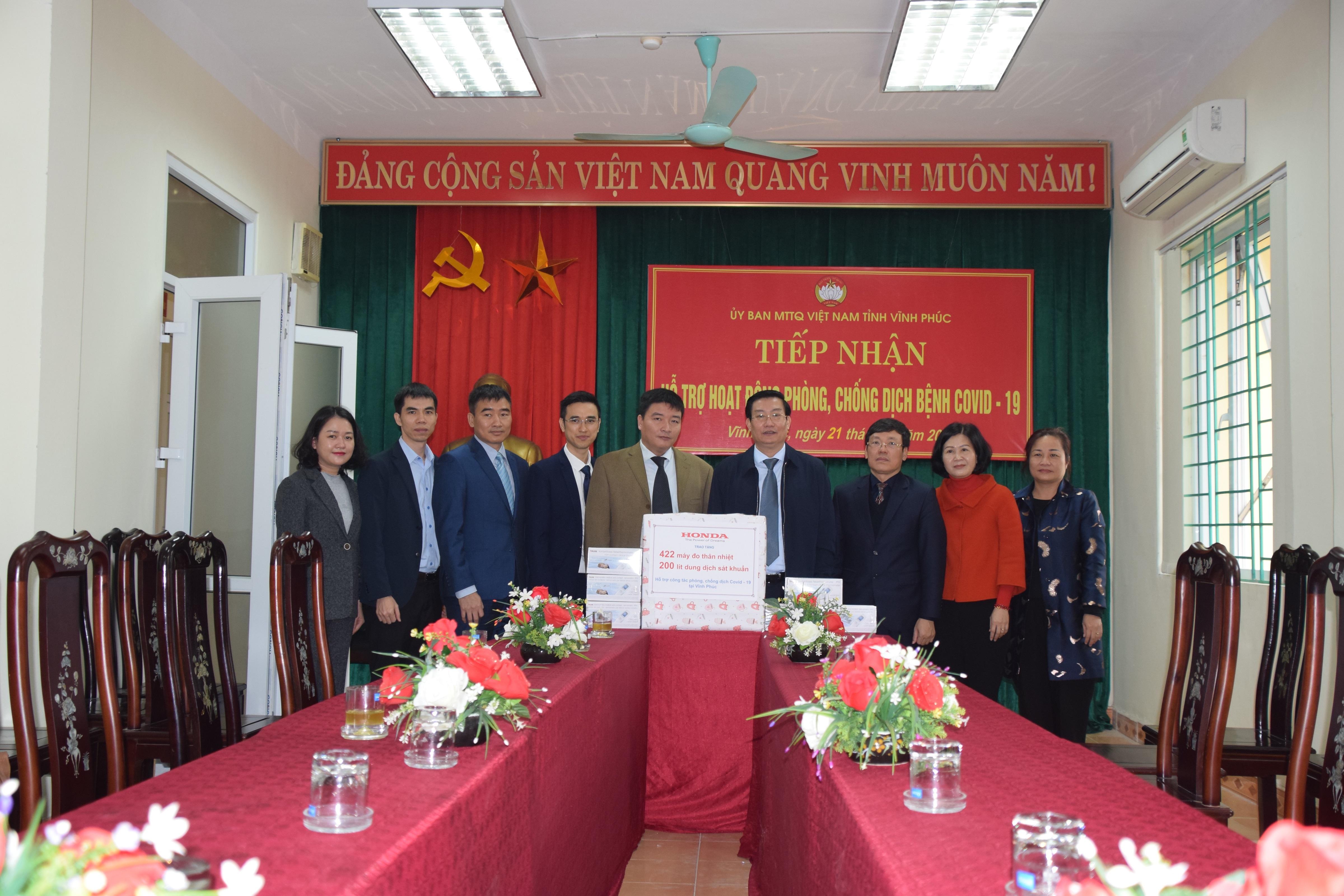 Honda Việt Nam góp 10 tỷ đồng hỗ trợ phòng chống dịch Covid-19