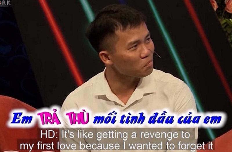 Chàng trai kể chuyện trả thù tình cũ trên truyền hình khiến khán giả lắc đầu