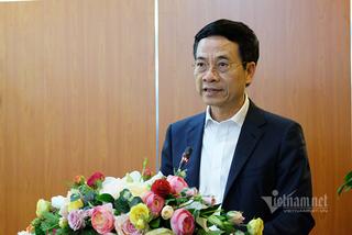 Toàn văn phát biểu của Bộ trưởng Nguyễn Mạnh Hùng tại lễ phát động ủng hộ phòng, chống dịch Covid-19