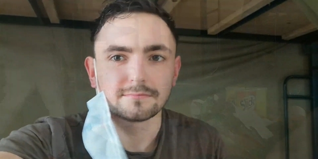 British man quarantined over coronavirus in VN says UK has a lot to learn