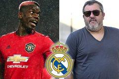 Đại diện Pogba gây bão, Real Madrid cười vào mặt MU