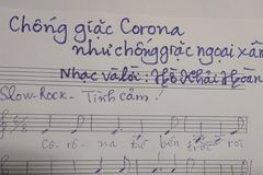 Ra mắt hàng loạt ca khúc cổ động chống Covid-19