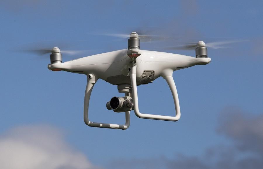 Kết quả hình ảnh cho drone cảnh báo Covid-19
