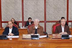 Tổng bí thư, Chủ tịch nước chủ trì họp Bộ Chính trị về phòng, chống Covid-19