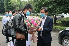 Bệnh nhân 18 khỏi hoàn toàn, chuyển về Thái Bình theo dõi sức khỏe