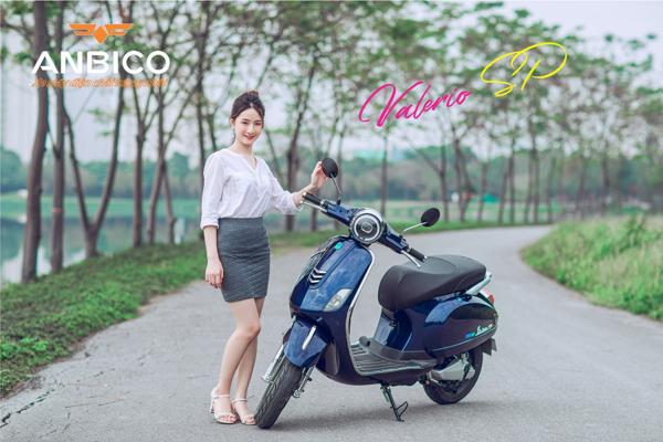Lý do nên sở hữu xe máy điện Anbico Valerio SP