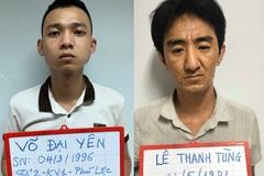 Đang giao dịch ma túy đá, 2 đối tượng bị cảnh sát khống chế