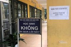 Hà Nội hướng dẫn xử lý trường hợp có biểu hiện sốt, ho tại trường học