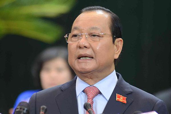 Ông Lê Thanh Hải bị cách chức Bí thư Thành ủy TP.HCM nhiệm kỳ 2010-2015