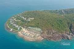 Xây công trình không phép lấp đất đá lấn biển, chủ đầu tư bị phạt 40 triệu