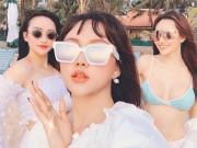 MC Thời sự 'hot nhất đài VTC' khoe 2 em gái nóng bỏng, tài giỏi