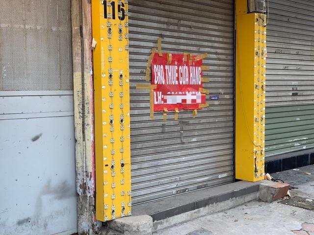 Xuất hiện 'làn sóng' trả mặt bằng ở phố quần áo sầm uất bậc nhất Hà Nội