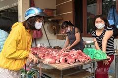 'Thách thức' lệnh giảm giá, thịt lợn cố thủ ở mức cao