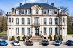 Bộ sưu tập 6 siêu xe Bugatti trị giá 35,6 triệu USD